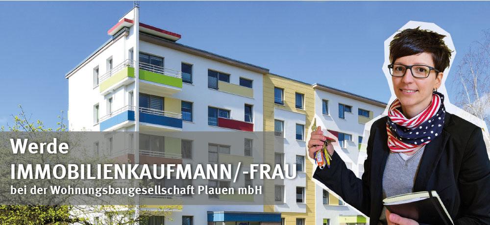 Ansbildung bei der Wohnungsbaugesellschaft Plauen mbH