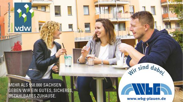 Gemeinsam mehr erreichen: Die WbG Plauen hat sich mit zahlreichen sächsischen Wohnungsunternehmen im Verband vdw Sachsen organisiert