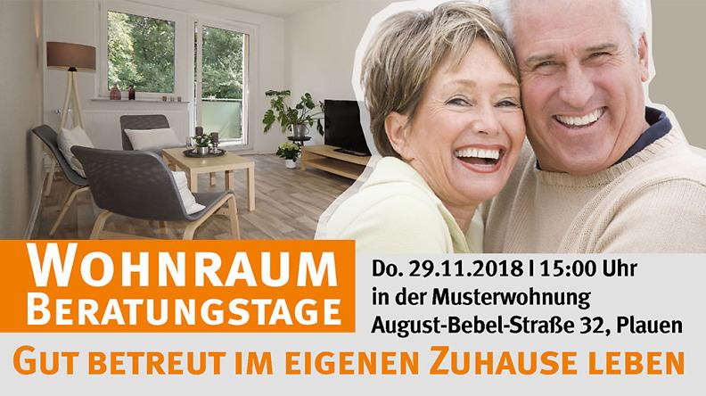 Pflege Beratungstag in der Musterwohnung August- Bebel- Straße 32