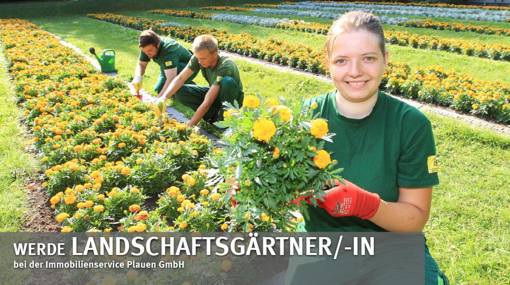 Ausbildung zum landschaftsgärtner/-in bei der Immobilienservice Plauen GmbH