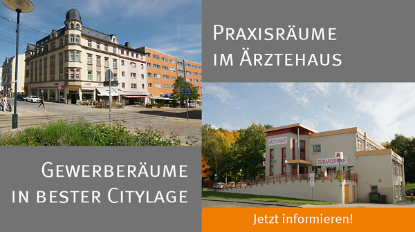 Gewerberäume in Plauen zu vermieten