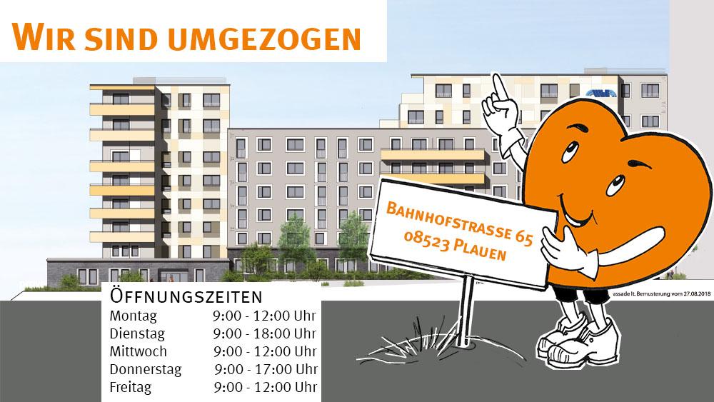Adresse Wohnungsbaugesellschaft Plauen, WbG-Plauen mbH