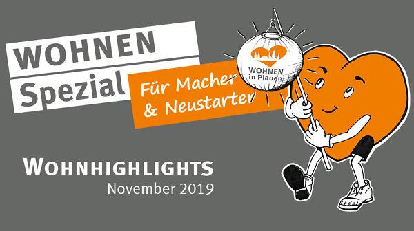 Wohnhighlights November 2019