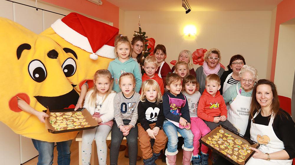3. Willi´s Weihnachtsbäckerei