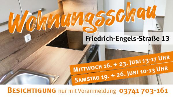 Wohnungsschau Friedrich-Engels-Straße 13